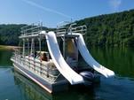 30 ft. Solid Craft 30' Double Water Slide Boat Pontoon Boat Rental Rest of Northeast Image 1