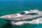 120 ft. Tecnomar 120 Mega Yacht Boat Rental Miami Image 1