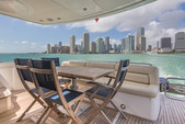 63 ft. Sunseeker Manhattan Motor Yacht Boat Rental Miami Image 15