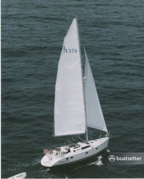 Rent a Hunter cruiser racer in Annapolis, MD near me