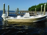 23 ft. Hanson skiff Bay boat Center Console Boat Rental Tampa Image 2