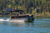 27 ft. Godfrey Marine Sanpan 2500 UL Triple Tube Pontoon Boat Rental Rest of Northwest Image 1