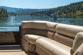 27 ft. Godfrey Marine Sanpan 2500 UL Triple Tube Pontoon Boat Rental Rest of Northwest Image 2