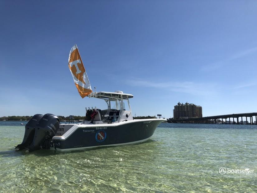 Rent a Tidewater Boats center console in Destin, FL near me