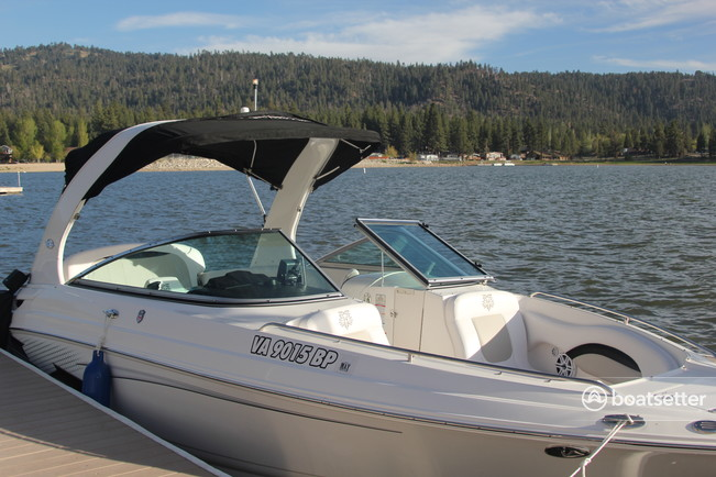 Rent a Chaparral Boats bow rider in Big Bear Lake, CA near me