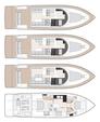 49 ft. Sealine Boats S-48 Motor Yacht Boat Rental Beaulieu-sur-Mer Image 9