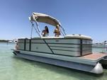 20 ft. Crest Pontoons 190 Crest II Pontoon Boat Rental Miami Image 1