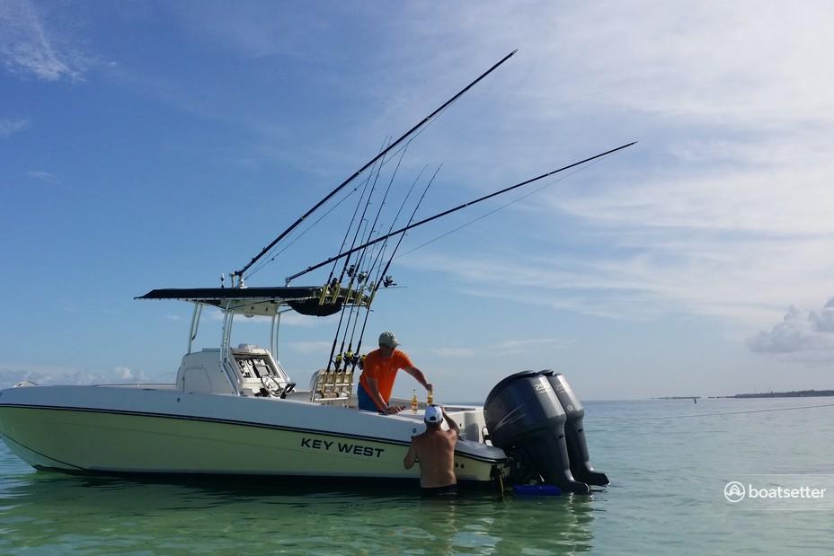 Rent a Key West Boats center console in Tavernier, FL near me