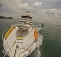 60 ft. Bertram Yacht 60 Convertible Open Flybridge Offshore Sport Fishing Boat Rental Panamá Image 2
