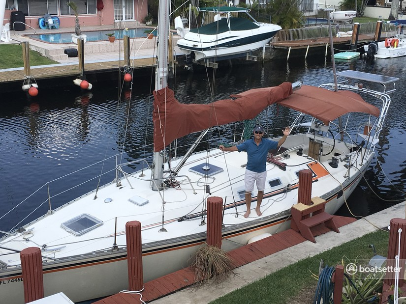 Rent a Jeanneau Sailboats cruiser in Fort Lauderdale, FL near me