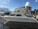 44 ft. Sea Ray Boats 440 Express Bridge Express Cruiser Boat Rental Jacksonville Image 4