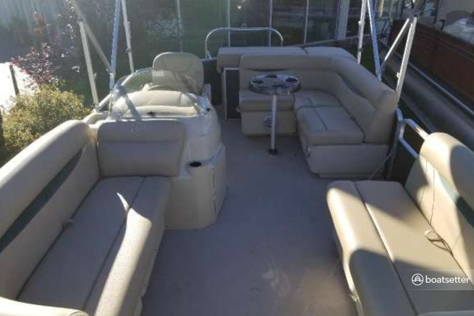 Rent a Godfrey Marine pontoon in Hadley, NY near me