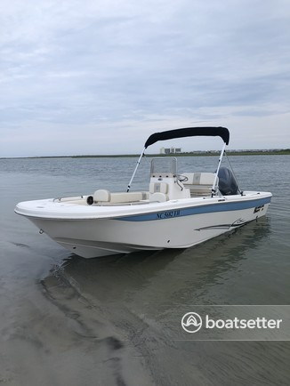 Rent a Carolina Skiff center console in Wilmington, NC near me