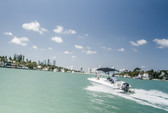 16 ft. Bayliner Element Bow Rider Boat Rental Miami Image 3
