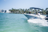 16 ft. Bayliner Element Bow Rider Boat Rental Miami Image 5