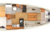 34 ft. Jeanneau Sailboats 349 Classic Boat Rental Tampa Image 3