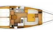 37 ft. Jeanneau Sailboats 379 Classic Boat Rental Tampa Image 5