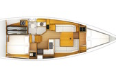 38 ft. Jeanneau Sailboats 389 Classic Boat Rental Tampa Image 3