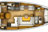 41 ft. Jeanneau Sailboats 419 Classic Boat Rental Tampa Image 4