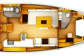 50 ft. Jeanneau Sailboats 519 Classic Boat Rental Tampa Image 2