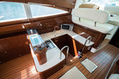 50 ft. Prestige Flybridge Boat Rental Miami Image 7