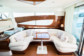 50 ft. Prestige Flybridge Boat Rental Miami Image 4