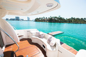 50 ft. Prestige Flybridge Boat Rental Miami Image 1