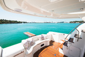 50 ft. Prestige Flybridge Boat Rental Miami Image 10