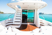 50 ft. Prestige Flybridge Boat Rental Miami Image 2