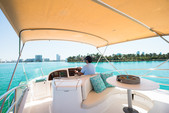 50 ft. Prestige Flybridge Boat Rental Miami Image 3