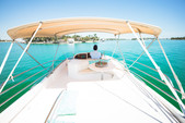 50 ft. Prestige Flybridge Boat Rental Miami Image 16
