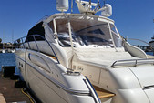 61 ft. Viking Yacht 60 Convertible Enclosed Motor Yacht Boat Rental Los Angeles Image 1
