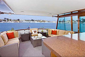 60 ft. Chris Craft 65 Motor Yacht Boat Rental Los Angeles Image 1