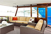 60 ft. Chris Craft 65 Motor Yacht Boat Rental Los Angeles Image 2