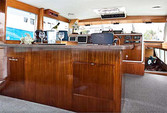 60 ft. Chris Craft 65 Motor Yacht Boat Rental Los Angeles Image 3