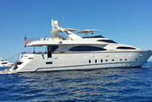 100 ft. Azimut Yachts 100 Jumbo Motor Yacht Boat Rental Los Angeles Image 3