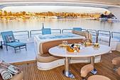 100 ft. Azimut Yachts 100 Jumbo Motor Yacht Boat Rental Los Angeles Image 17