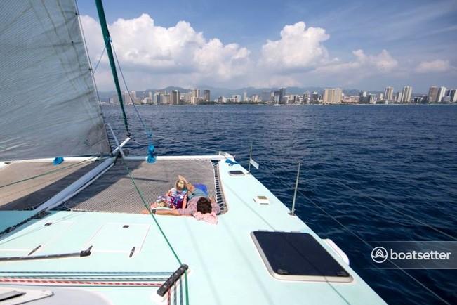 Rent a Catamaran Cruiser catamaran in Honolulu, HI near me