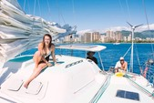 48 ft. Catamaran Cruiser Custom Made Catamaran Boat Rental Hawaii Image 5