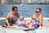48 ft. Catamaran Cruiser Custom Made Catamaran Boat Rental Hawaii Image 9