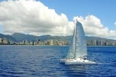 48 ft. Catamaran Cruiser Custom Made Catamaran Boat Rental Hawaii Image 16