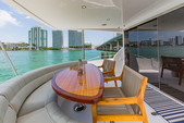 60 ft. Hatteras Yachts 60 Convertible Motor Yacht Boat Rental Miami Image 10