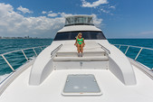 60 ft. Hatteras Yachts 60 Convertible Motor Yacht Boat Rental Miami Image 11