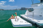 60 ft. Hatteras Yachts 60 Convertible Motor Yacht Boat Rental Miami Image 13