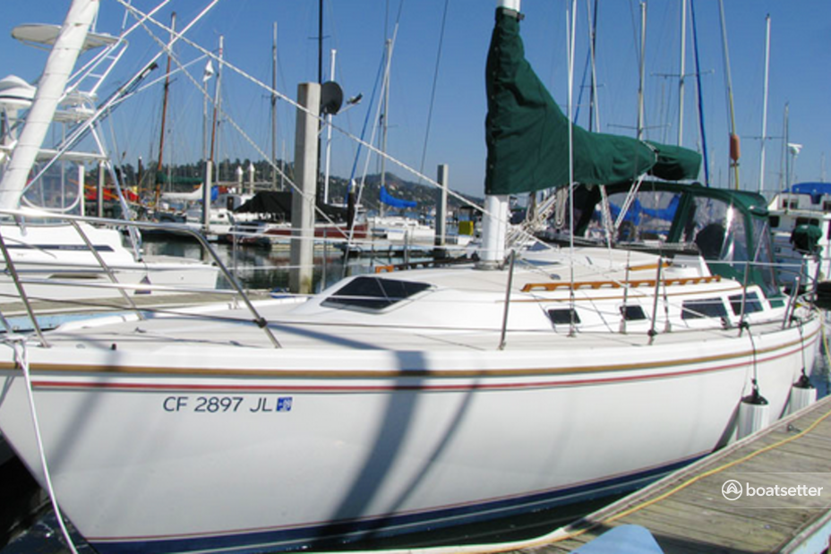 Rent a Catalina sloop in Sausalito, CA near me