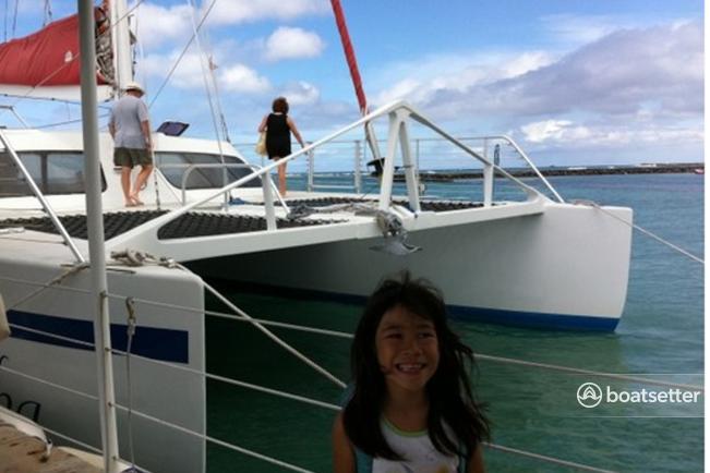 Rent a Curtis Marine catamaran in Honolulu, HI near me