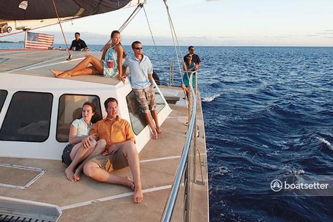 Rent a Custom Craft catamaran in Honolulu, HI near me