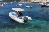 18 ft. Zodiac of North America Pro Open 550 Inflatable Outboard Boat Rental Hvar Image 3