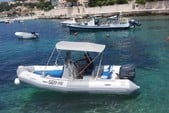 18 ft. Zodiac of North America Pro Open 550 Inflatable Outboard Boat Rental Hvar Image 4