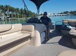 21 ft. Sun Tracker 21 Party Barge Pontoon Boat Rental Miami Image 16
